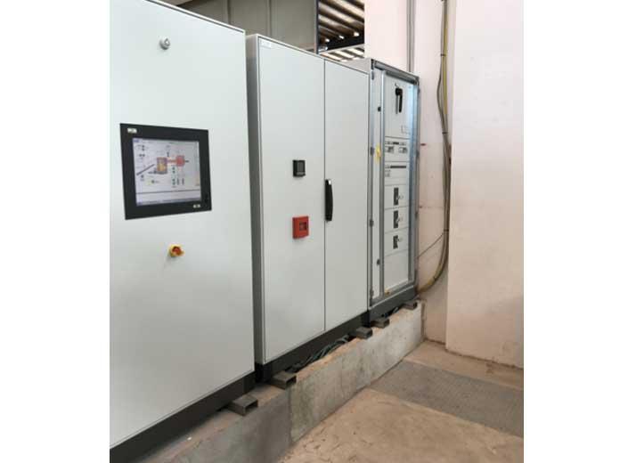 Impianto a biomassa legnosa 200kw - Cabine elettriche del sistema