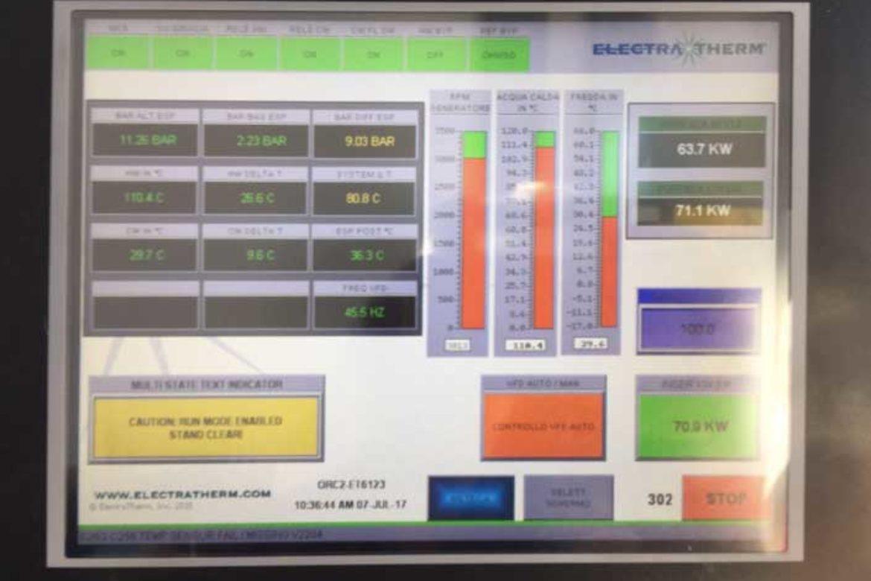 Impianto a biomassa legnosa 200KW: sistema di controllo