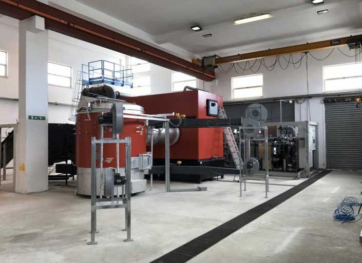Impianto a biomassa legnosa, 200KW