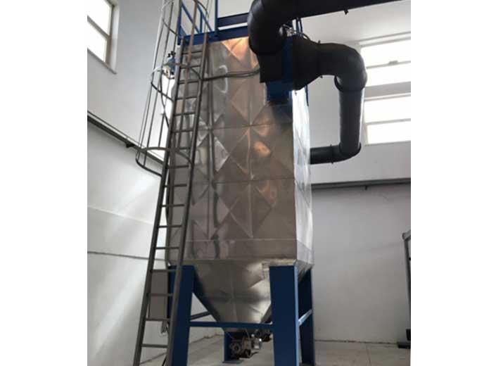 Impianto a biomassa legnosa 200kw - Filtri a aniche fumi