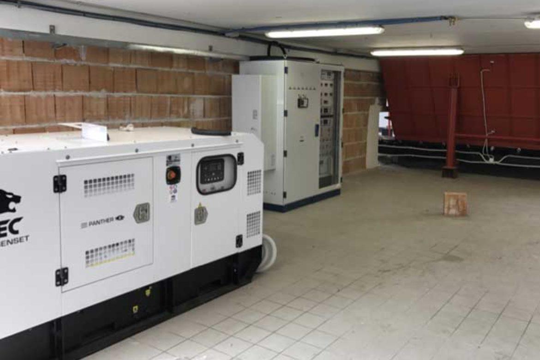 Impianto biomassa legnosa 200KW: motore diesel