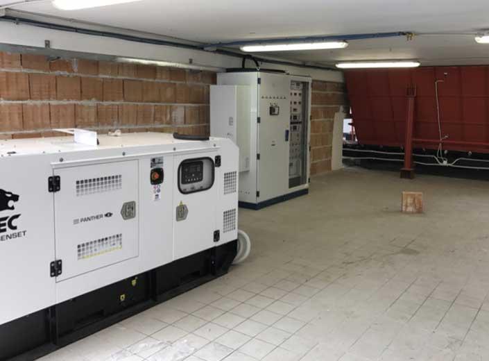 Impianto biomassa legnosa 200 kw - motore diesel