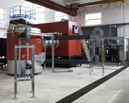 Impianto a biomassa: caldaia e bruciatore